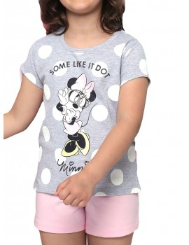 PIJAMA MINNIE NIÑA