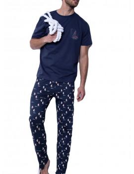 Pijama hombre Antonio Miró largo náutico