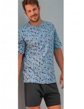 Pijama hombre Kler palmeras