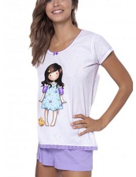 Pijama corto Santoro mujer