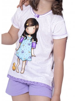 Pijama Santoro niña Little Duck