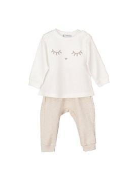 Pijama bebé Calamaro carita