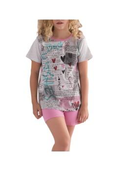Pijama niña corto Tobogán