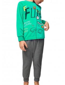 Pijama tondosado Tobogán mounstruo