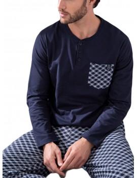Pijama hombre Admas 100% algodón
