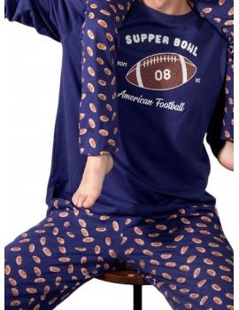 Pijama niños Admas Supper Bowl