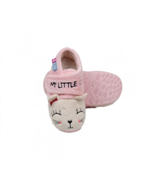 Zapatilla botita gatito Garzón niña