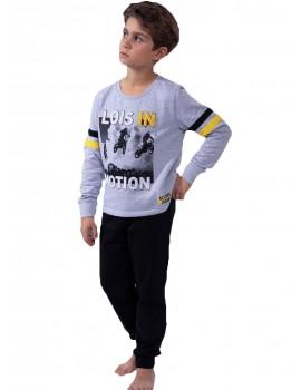 Pijama Niño Lois Algodón Motos