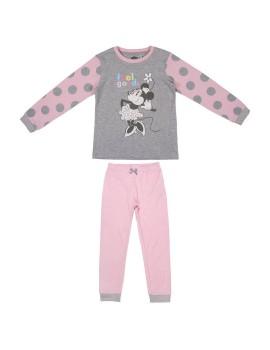 Pijama Minnie algodón niña
