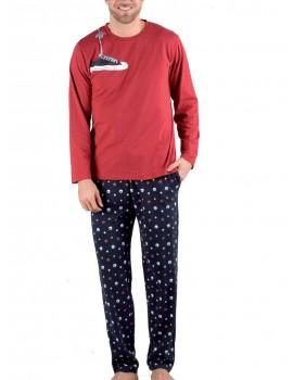 Pijama hombre Pettrus algodón