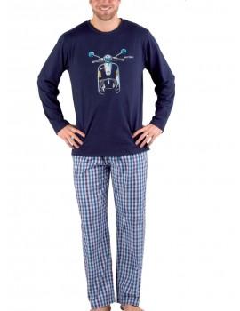 Pijama Pettrus hombre Vespa