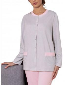 Pijama Marie Claire Mujer Clásico Abierto