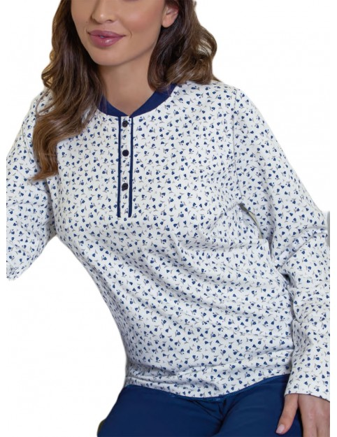 Pijama Clásico Marie Claire Mujer Algodón Flores