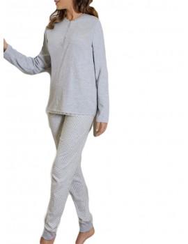 Pijama Marie Claire Mujer Básico Algodón