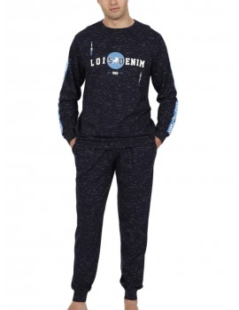 Pijama Lois hombre bolsillos
