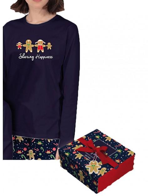 Pijama Mujer Admas Navidad Algodón