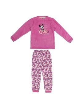 Pijama Minnie niña coralina