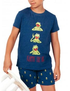 Pijama Disney Niño Rana Gustavo Algodón Verano