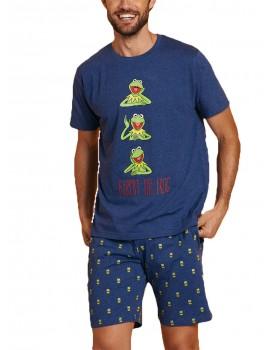 Pijama Hombre Disney Algodón Rana Gustavo Verano