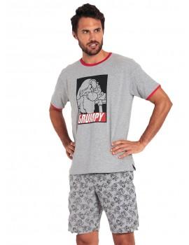 Pijama Disney Hombre Gruñón Verano Algodón