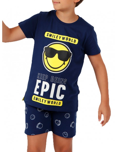 Pijama Smiley Niño Verano Algodón