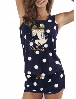 Pijama tirantes de Minnie para mujer con lunares.