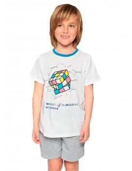 Pijama Verano MuyDemi NIño Cubo Rubik