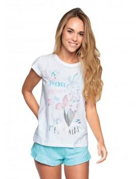 Pijama Mujer MuyDemi Sirena Verano Algodón