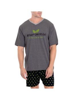 Pijama Hombre Kler Save Planet Verano