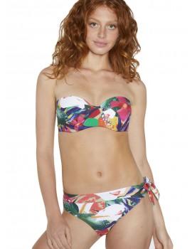 Bikini tropical Ysabel Mora bandeau copa D