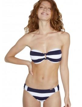 Bikini marinero Ysabel Mora bandeau push up