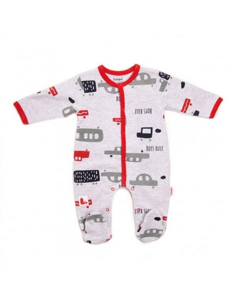 Pelele bebé Baby bol coches