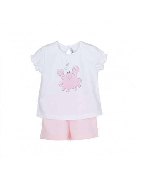 Pijama niña Calamaro algodón cangrejo