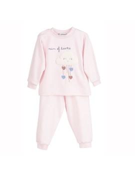 Pijama Corazones bebé Calamaro