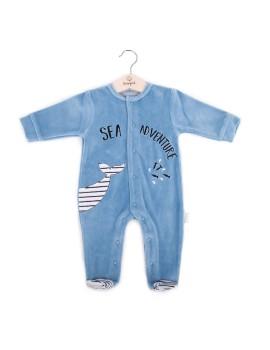 Pijama bebé Baby bol algodón tondosado.
