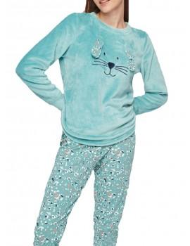 Pijama Gisela Mujer Animalito Peluche Invierno