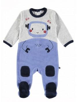 Pelele bebé Yatsi tondosado robot.