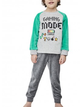 Pijama terciopelo niño Tobogán.