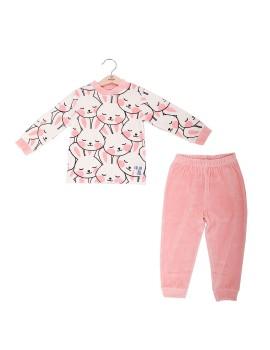 Pijama Niña Baby-Bol Tondosado Conejitos
