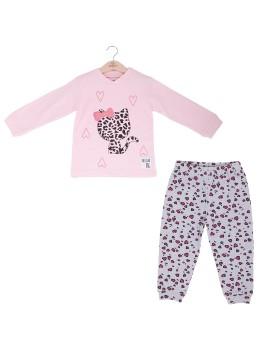 Pijama Niña Baby-Bol Animal Print Gato