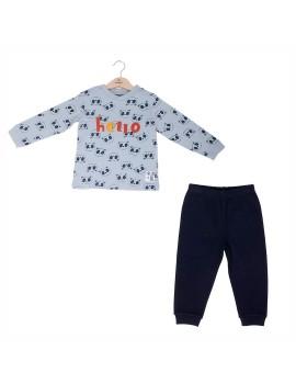 Pijama Niño Baby-Bol Panda Invierno