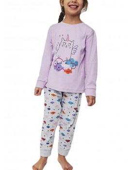 Pijama niña Yatsi algodón Gaticornio