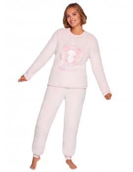 Pijama Mujer Muydemi Borreguito Ratón Invierno