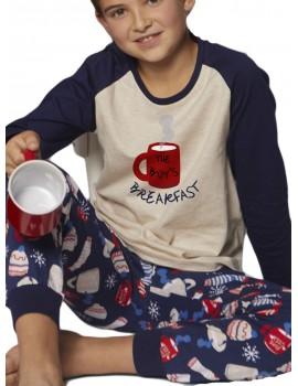 Pijama Niño Invierno Admas Taza Desayuno