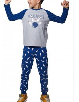 Pijama Admas Niño Bolos Puños