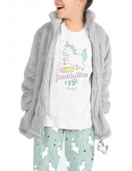 Pijama Niña Mr Wonderful Unicornio Invierno